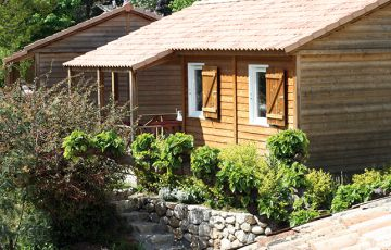 chalet fabre grand luxe location ardeche